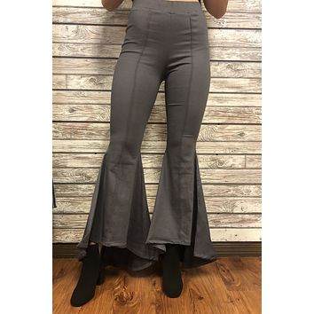 On A Roll Pants- Charcoal
