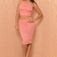 Cassidy Top - Coral