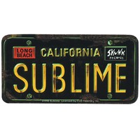 Sublime - License Plate Decal