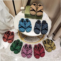 GG The latest thick soled slippers Shoes