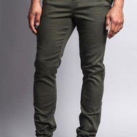 Men's Slant-Pocket Skinny Joggers