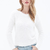 LOVE 21 Faux Mohair Sweater
