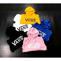 Vans cotton and velvet hoodie