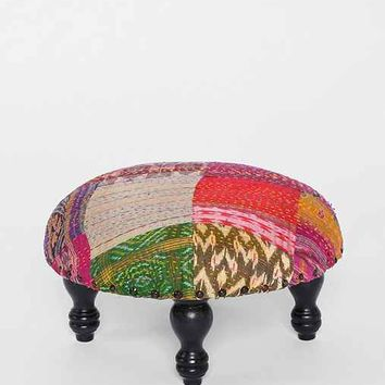 Magical Thinking Patchwork Stool- Multi One