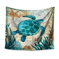 Marine Life Tapestry Collection