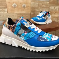 Dolce&Gabbana DG Women Men New Fashion Casual Shoes Sneaker Sport Running Shoes