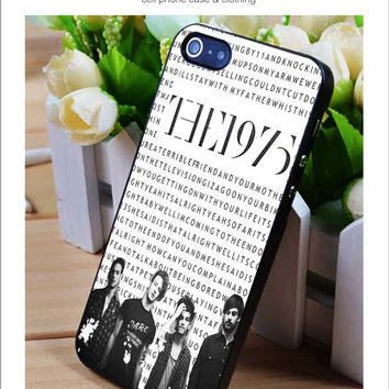The 1975 wallpaper iPhone for 4 5 5c 6 Plus Case, Samsung Galaxy for S3 S4 S5 Note 3 4 Case, iPod for 4 5 Case, HtC One for M7 M8 and Nexus Case