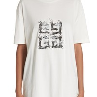 Givenchy Flame Logo Oversize Tee | Nordstrom
