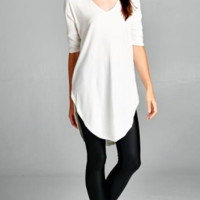 Charlotte Cozy Tunic Top