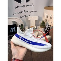 Champion x Yeezy Boost 350 V2 Shoes 36-45