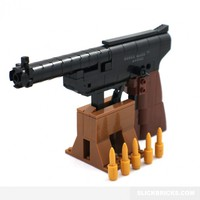 Ruger Mark III Pistol - Lego Compatible Model