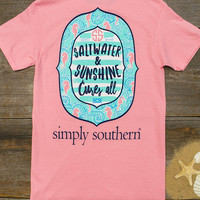 Saltwater & Sunshine Tee | Simply Southern