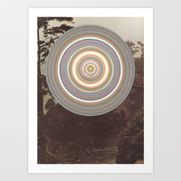 Washed Out Art Print by Laurie McCall
