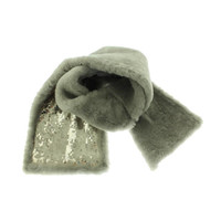 Ugg Womens Leather Sequined Neck Warmer