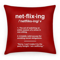 NETFLIXING PILLOW - PREORDER