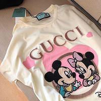《《 keniii 》》 GG  Men and Women EMBROIDERED PLAID, PRINTED T-SHIRTS