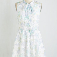 Pastel Mid-length Sleeveless A-line Life of Tea Party Dress by ModCloth