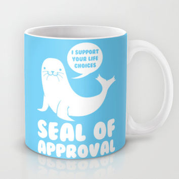 Seal of Approval  Mug by LookHUMAN