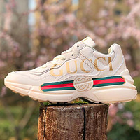 GG rhyton classic thick soled sneakers Shoes