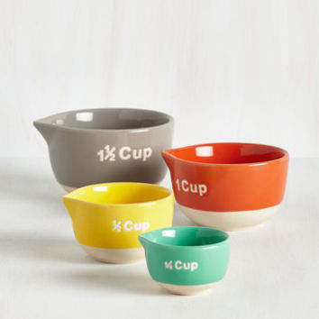 Colorblocking Bake a Day of It Measuring Cup by ModCloth