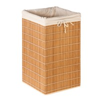 Square Wicker Laundry Hamper