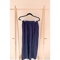 Got the Blues Navy Cropped Pants