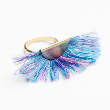Free People Super Fan Ring