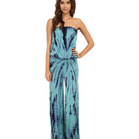Young Fabulous & Broke Sydney Jumpsuit Teal Dreamer Wash - Zappos.com Free Shipping BOTH Ways