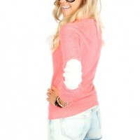 Neon Patch Sweater