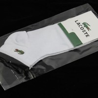 3pairs/lot  5pairs/lot Lacoste Socks brand Business Casual socks cheap and high quality