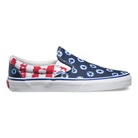 Dyed Dots Stripes Slip-On | Shop Womens Shoes at Vans