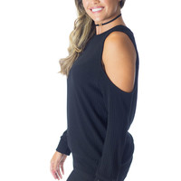 She's All That- Cold Shoulder Top