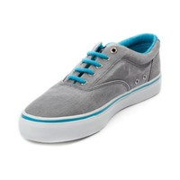 Mens Sperry Top-Sider Striper Casual Shoe, Gray, at Journeys Shoes