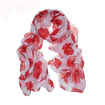 Floral Printed  light weight Scarf