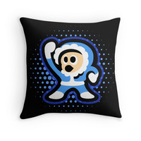 'Iceman' Throw Pillow by likelikes