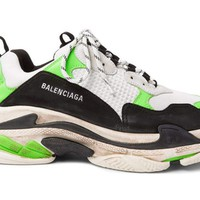 DCCK Balenciaga Triple S - Mr. Porter (Neon Green)
