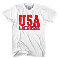 United States USA Lacrosse Nation T-shirt