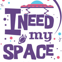 I Need My (Outer) Space Sticker