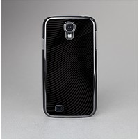 The Black and White Wavy Surface Skin-Sert Case for the Samsung Galaxy S4