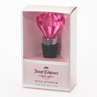 Juicy Couture Rhinestone Wine Stopper - Limited Edition