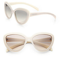Prada - 57 mm Cat's-Eye Sunglasses - Saks Fifth Avenue Mobile