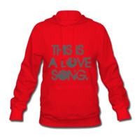 This Is A Love Song Women's Hooded Sweatshirt - Women's Hooded Sweatshirt