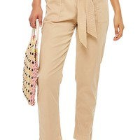 Topshop Popper Utility Trousers (Regular & Petite) | Nordstrom
