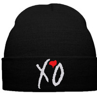 xo the weeknd beanie winter hat thursday album cover xo ovoxo xo the weeknd knit hat