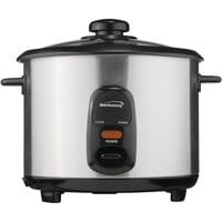 Brentwood 8-cup Stainless Steel Rice Cooker