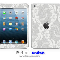 New iPad Mini Skin Lace 467 LONG LASTING Decal
