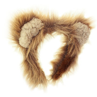"""Coffee"" BearBear Headband - Adult Small/Medium"