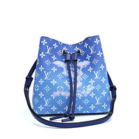 LV Louis Vuitton MONOGRAM ESCALE CANVAS NEONOE INCLINED SHOULDER BAG