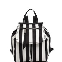 MARC JACOBSTrooper Striped Backpack