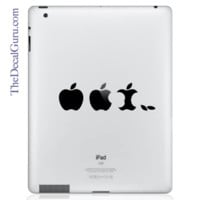 Edible Apple iPad Decal | iPad Vinyl Decals | iPad Decals | The Decal Guru